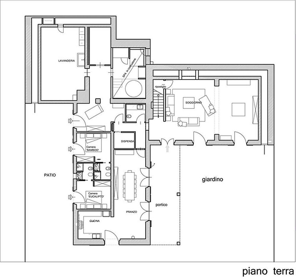 adelaparvu.com despre casa in stil toscan, casa rustic moderna, design Claudia Claudia Pelizzari (20)