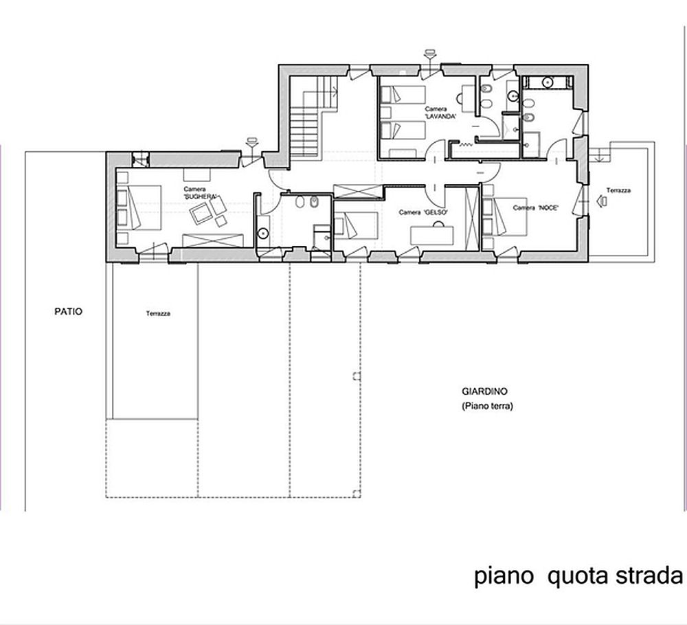 adelaparvu.com despre casa in stil toscan, casa rustic moderna, design Claudia Claudia Pelizzari (21)