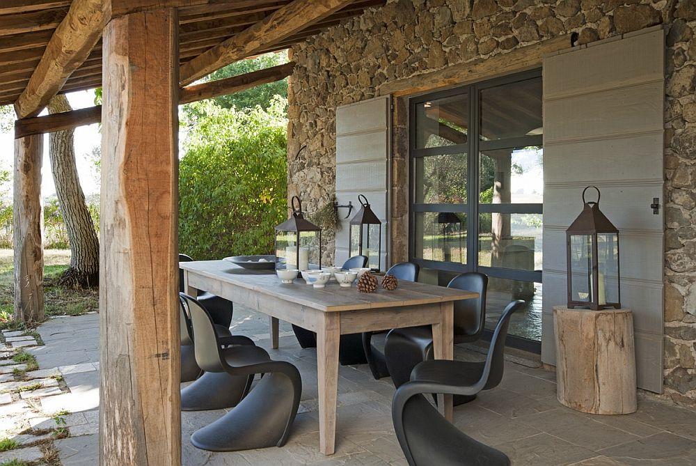 adelaparvu.com despre casa in stil toscan, casa rustic moderna, design Claudia Claudia Pelizzari (3)