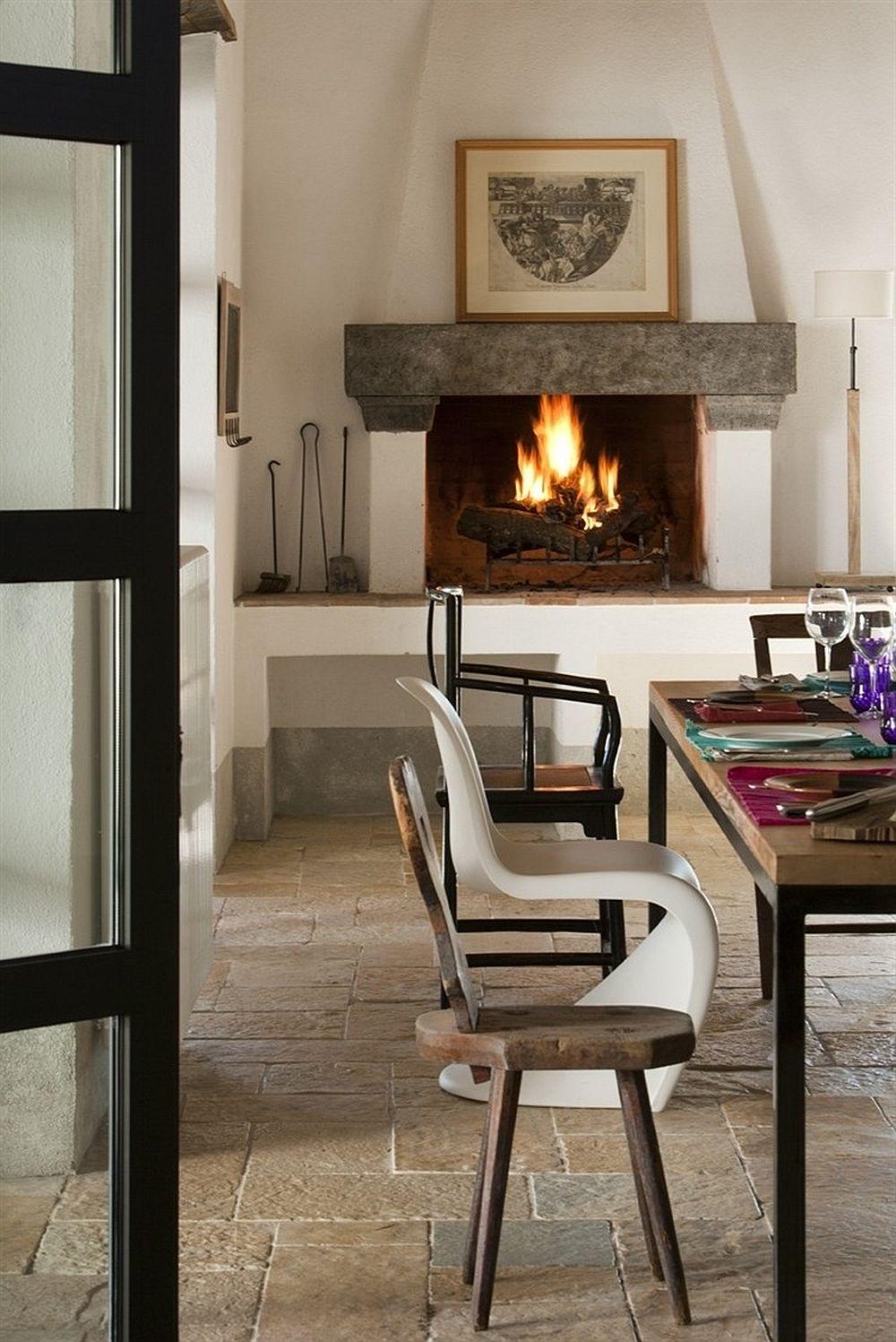 adelaparvu.com despre casa in stil toscan, casa rustic moderna, design Claudia Claudia Pelizzari (5)