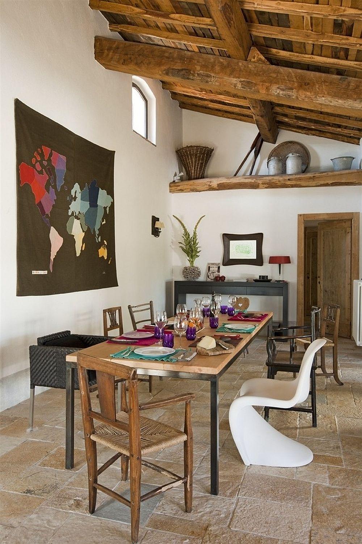 adelaparvu.com despre casa in stil toscan, casa rustic moderna, design Claudia Claudia Pelizzari (6)