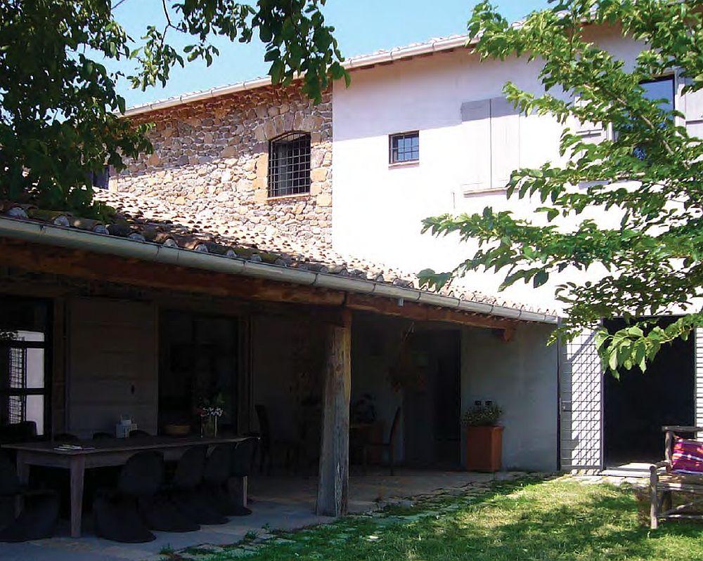 adelaparvu.com despre casa in stil toscan, casa rustic moderna, design Claudia Claudia Pelizzari