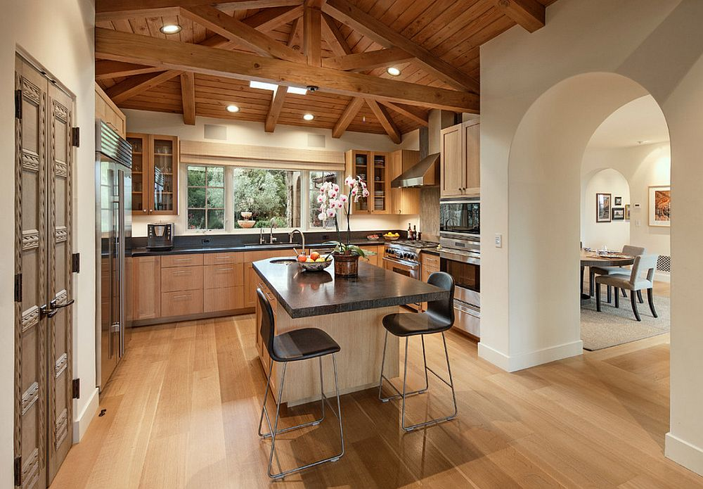 adelaparvu.com despre casa mediteraneana si interioare moderne, arhitectura Hugh Twibell, design interior Genny Cummings, Foto Jim Bartsch (9)