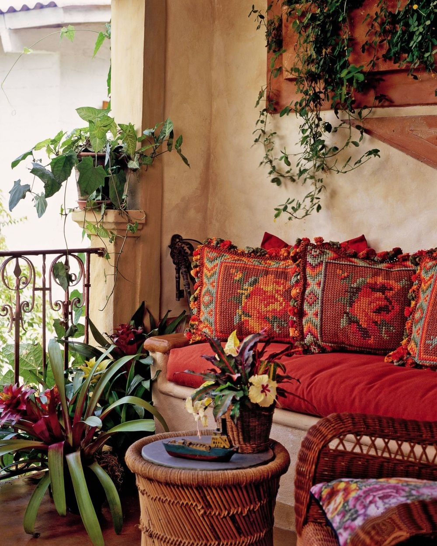 adelaparvu.com despre casa mica romantica, decor eclectic, casa Panama, design interior Diane Burn, Foto Michael Calderwood (4)