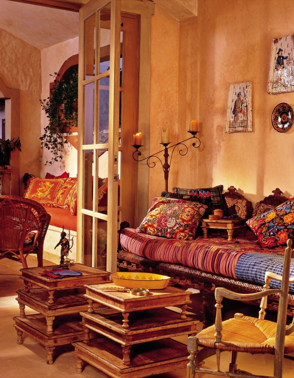 adelaparvu.com despre casa mica romantica, decor eclectic, casa Panama, design interior Diane Burn, Foto Michael Calderwood (9)