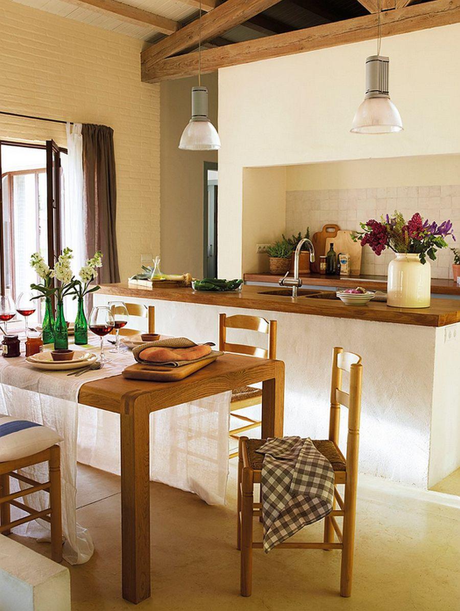 adelaparvu.com despre casa rustica cu aspect de hambar, casa Spania, arhitect Ivana Tuneu (11)