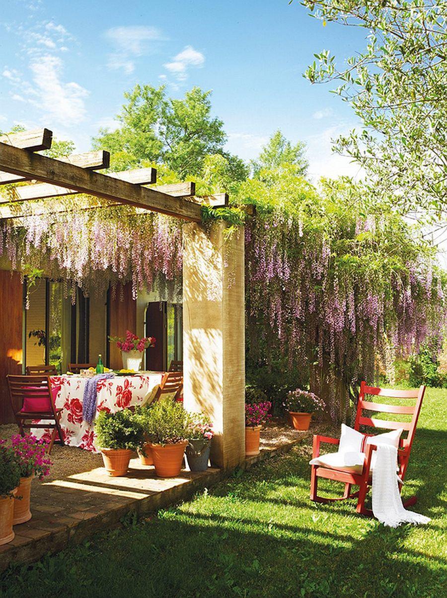 adelaparvu.com despre casa rustica cu aspect de hambar, casa Spania, arhitect Ivana Tuneu (2)