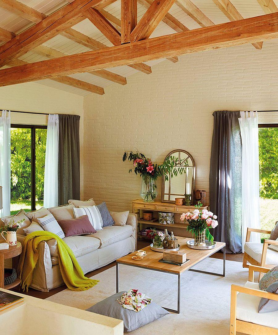 adelaparvu.com despre casa rustica cu aspect de hambar, casa Spania, arhitect Ivana Tuneu (7)