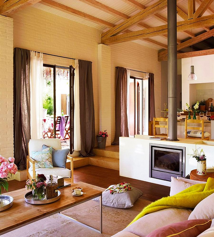 adelaparvu.com despre casa rustica cu aspect de hambar, casa Spania, arhitect Ivana Tuneu (8)