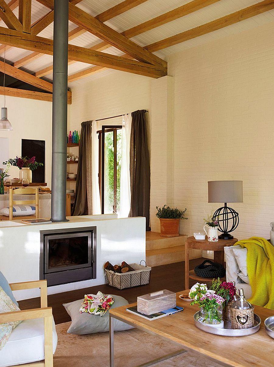 adelaparvu.com despre casa rustica cu aspect de hambar, casa Spania, arhitect Ivana Tuneu (9)