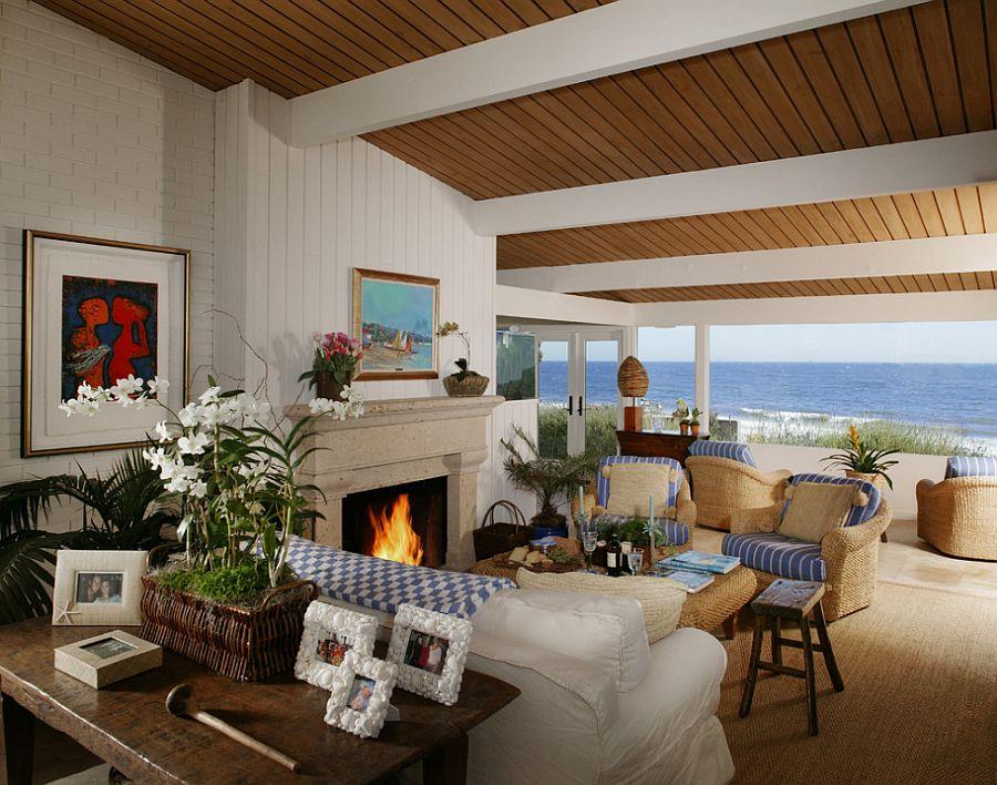 adelaparvu.com despre casa tip bungalou la mare, casa din lemn pe plaja, constructor Griffin and Crane, arh. Hugh Twibel, Foto Jim Bartsch (2)
