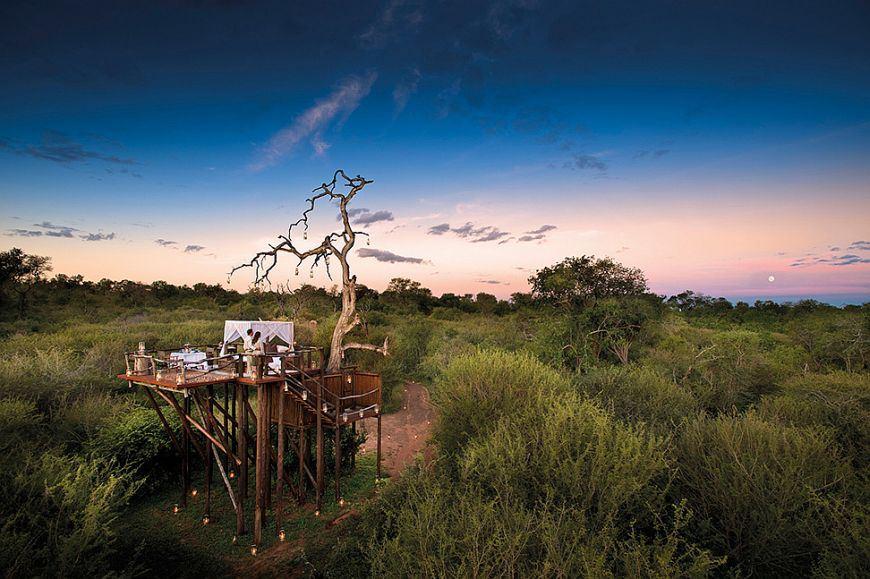 adelaparvu.com despre case suspendate, Lion Sands Reserve, Africa de Sud (1)