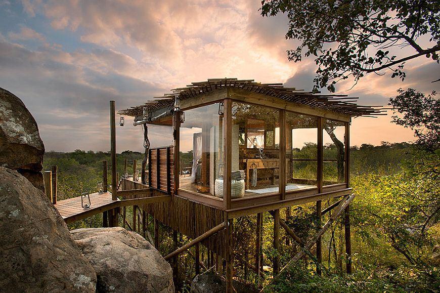 adelaparvu.com despre case suspendate, Lion Sands Reserve, Africa de Sud (5)