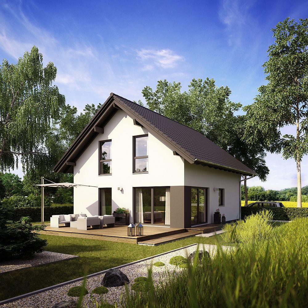 adelaparvu.com despre cat te costa repararea acoperisului, casa pentru familie, Foto Fingerhaus