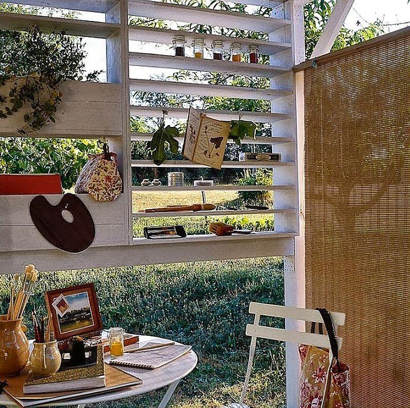 adelaparvu.com despre chiosc de gradina cu etaj, atelier de artist in aer liber (4)