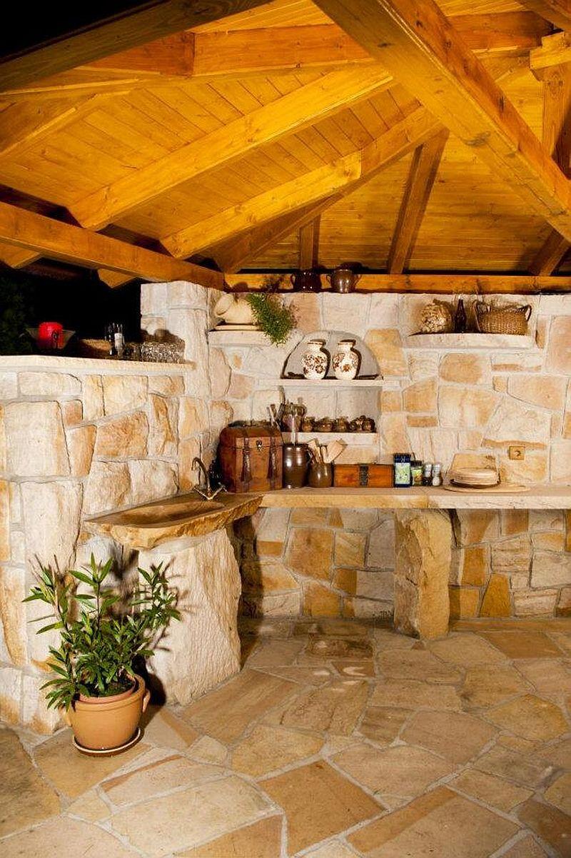 adelaparvu.com despre gratare din piatra, bucatarii de vara, design Zahradni Kuchyne, Cehia (10)