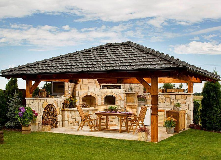 adelaparvu.com despre gratare din piatra, bucatarii de vara, design Zahradni Kuchyne, Cehia (25)