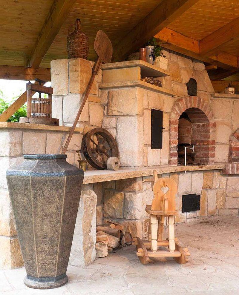 adelaparvu.com despre gratare din piatra, bucatarii de vara, design Zahradni Kuchyne, Cehia (6)