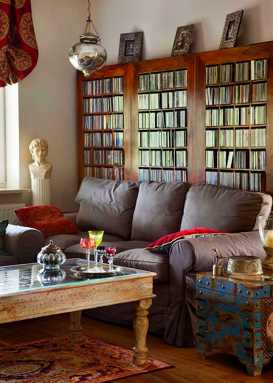 adelaparvu.com despre living in stil oriental, design Annei Rusiniak-Malinowska, Foto Aleksander Rutkowski (4)