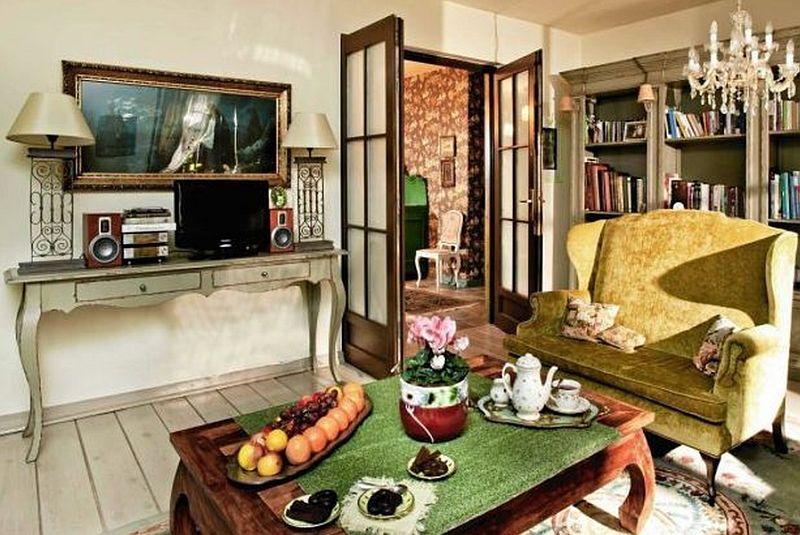 adelaparvu.com despre livinguri romantice, livinguri elegante, Foto Czterykaty (9)