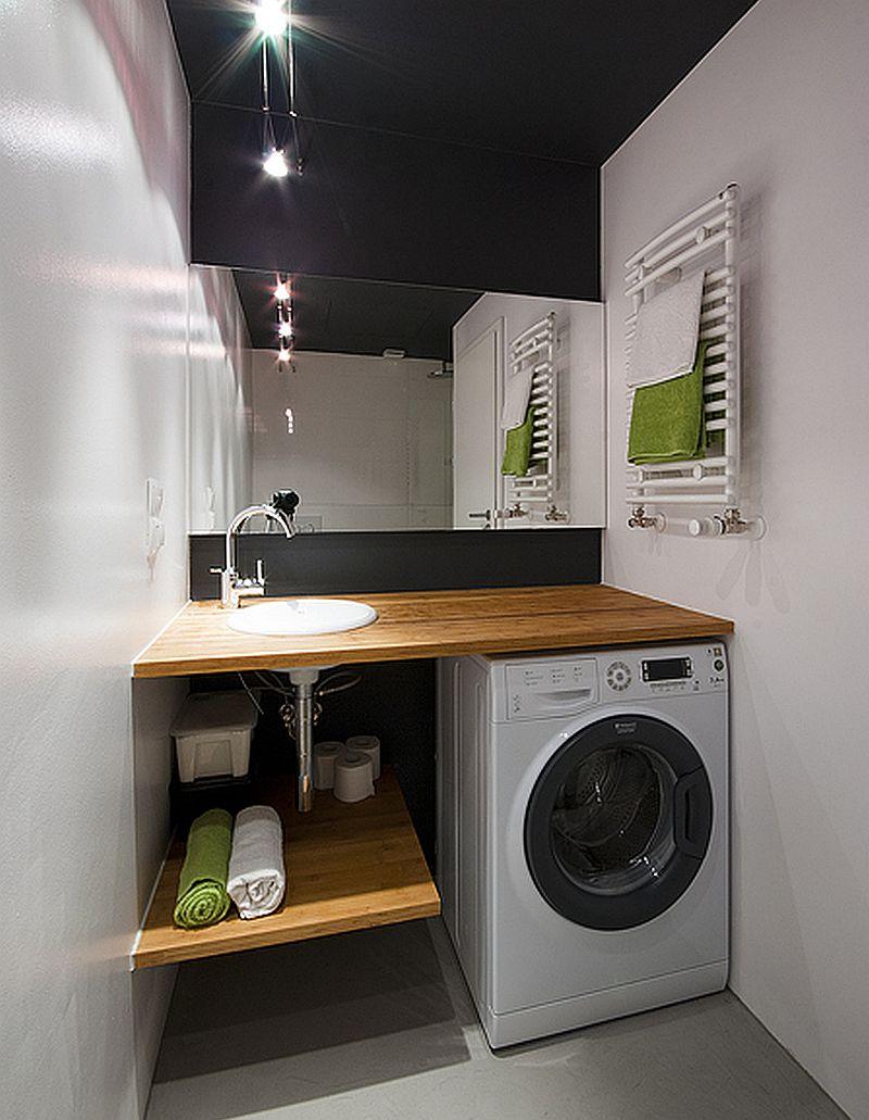 adelaparvu.com despre loc in baie pentru masina de spalat rufe  (10)