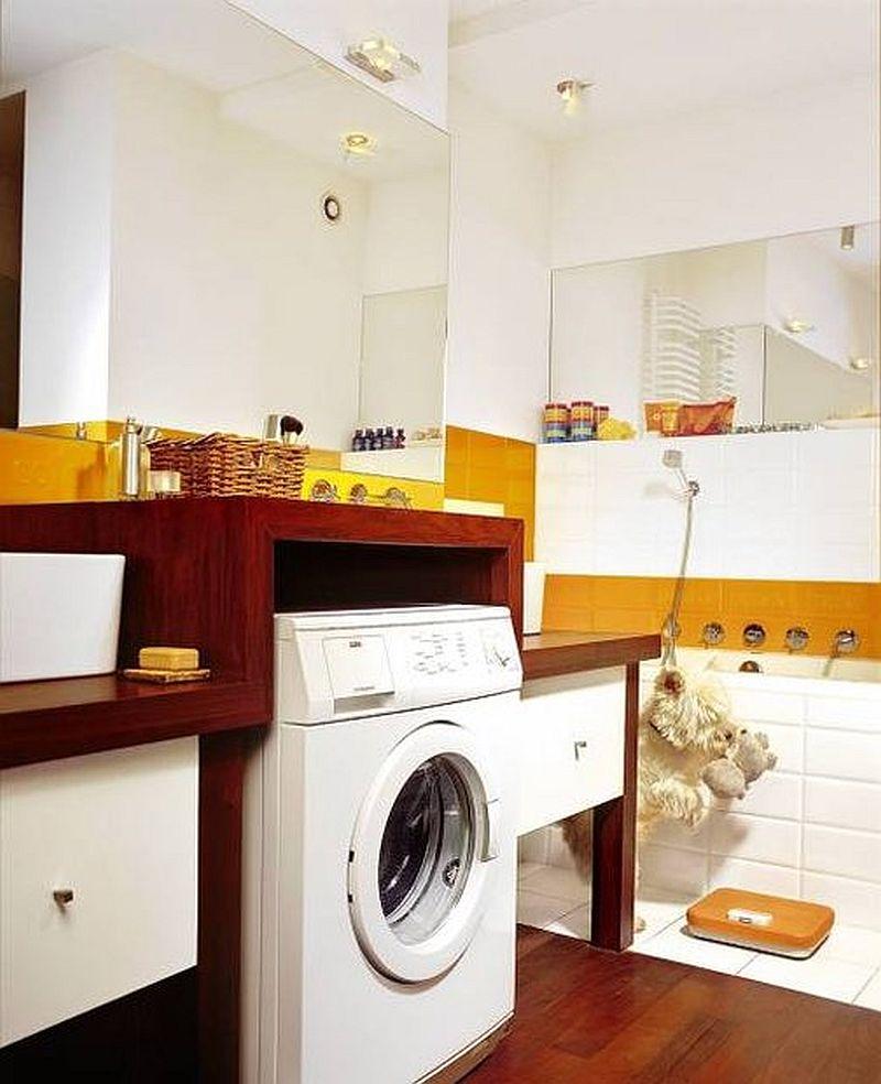 adelaparvu.com despre loc in baie pentru masina de spalat rufe  (11)
