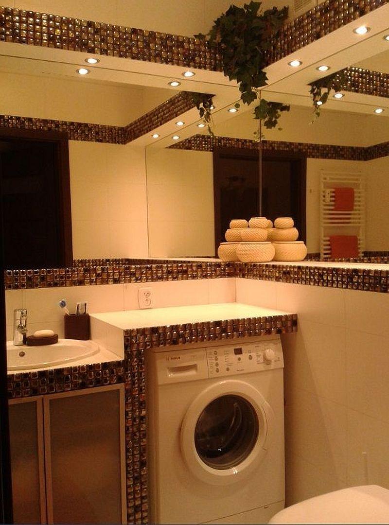 adelaparvu.com despre loc in baie pentru masina de spalat rufe  (5)