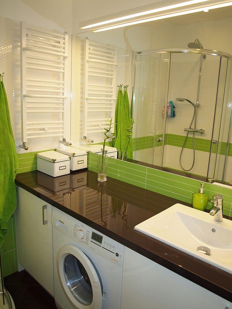 adelaparvu.com despre loc in baie pentru masina de spalat rufe  (8)