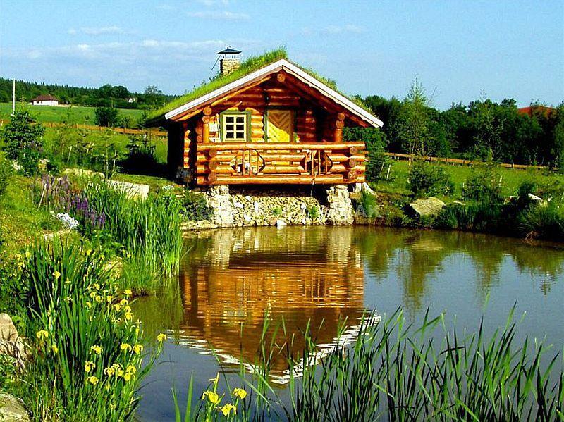 adelaparvu.com despre saune finlandeze sub forma de casute de lemn, design Sruby Pacak, Cehia (2)