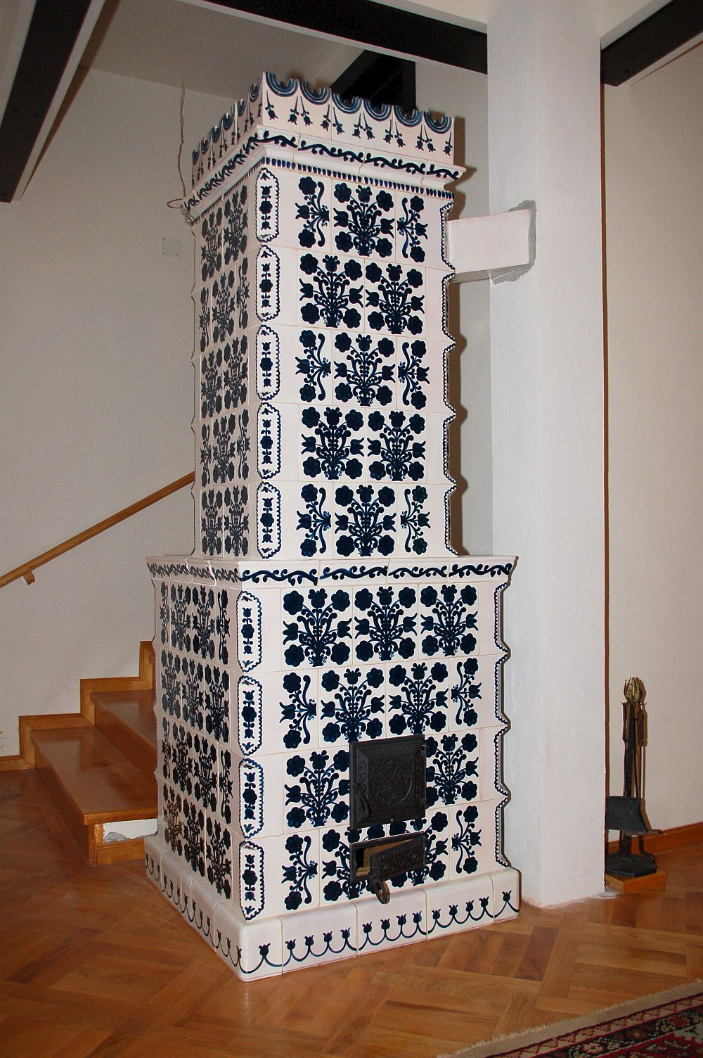 adelaparvu.com despre sobe, semineuri, gratare cu cahle de teracota si cahle pictate, Design AMRITA, Tg Secuiesc, Romania (38)