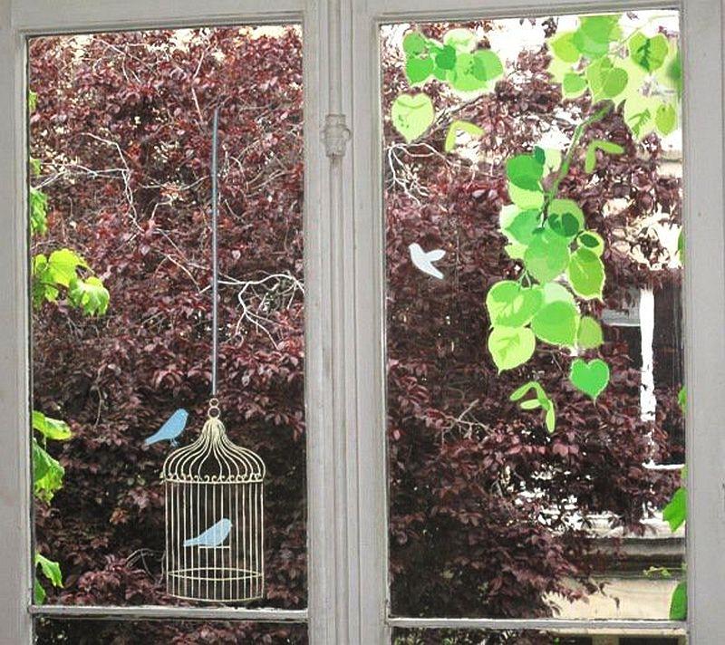 adelaparvu.com despre stickere pentru geam, deco-perete.ro, Foto Arbex Art Decor (6)