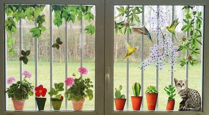 adelaparvu.com despre stickere pentru geam, deco-perete.ro, Foto Arbex Art Decor (9)