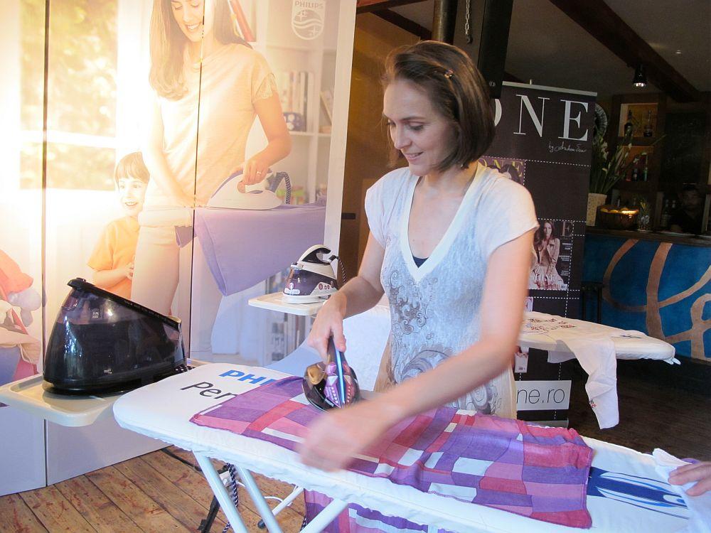 adelaparvu.com despre Concurs Philips PerfectCare statii de calcat, eveniment Olivia Steer (16)