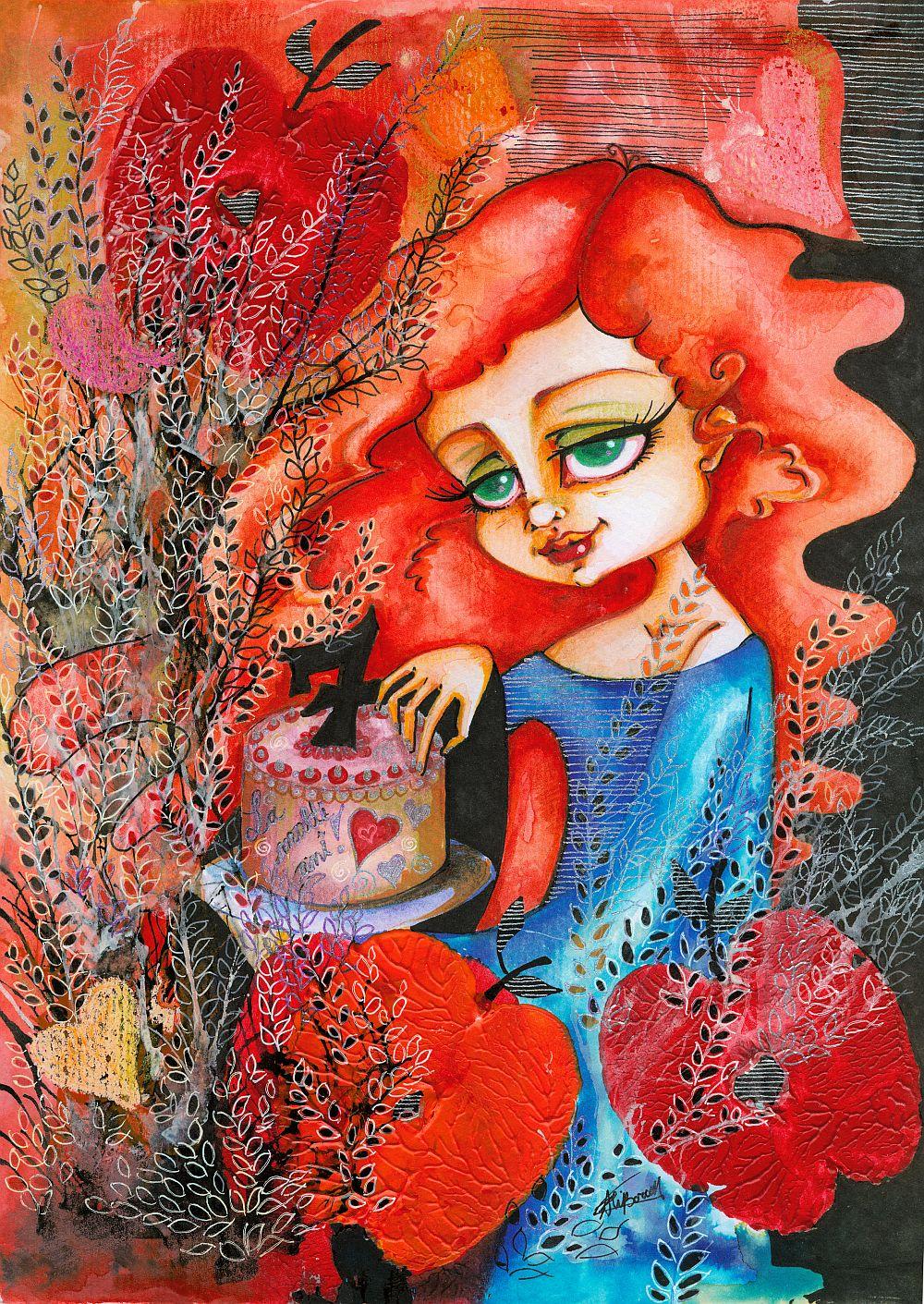 adelaparvu.com despre O povEstetica, expozitie la Pallets, artist Alina Borcea, lucrare 7even