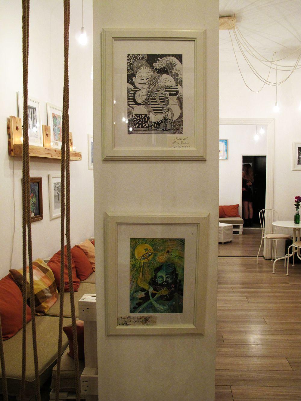 adelaparvu.com despre O povEstetica, expozitie la Pallets, artisti Alina Borcea si Anca Buzilan (1)