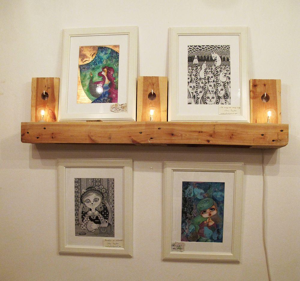adelaparvu.com despre O povEstetica, expozitie la Pallets, artisti Alina Borcea si Anca Buzilan (11)