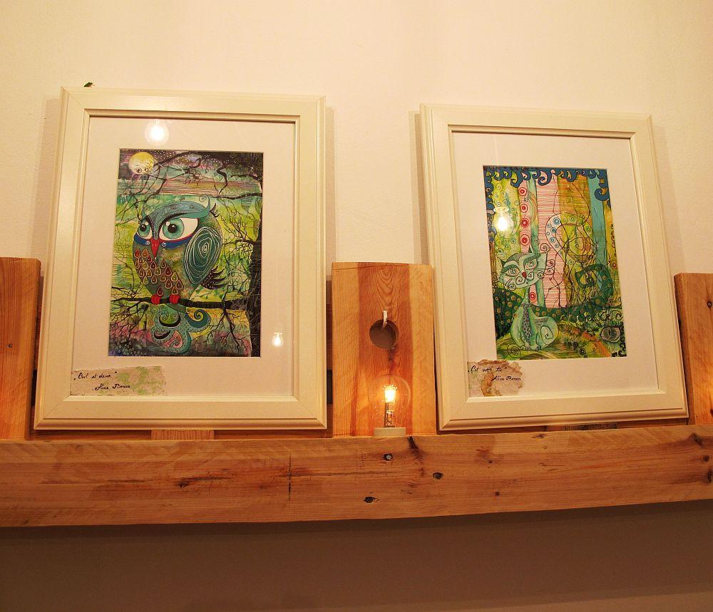 adelaparvu.com despre O povEstetica, expozitie la Pallets, artisti Alina Borcea si Anca Buzilan (6)