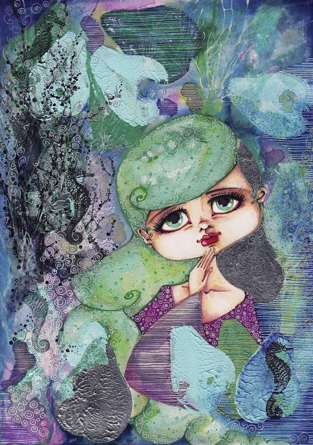 adelaparvu.com despre O povEstetica, expozitie la Pallets, lucrare Alin Para cruda artist Alina Borcea