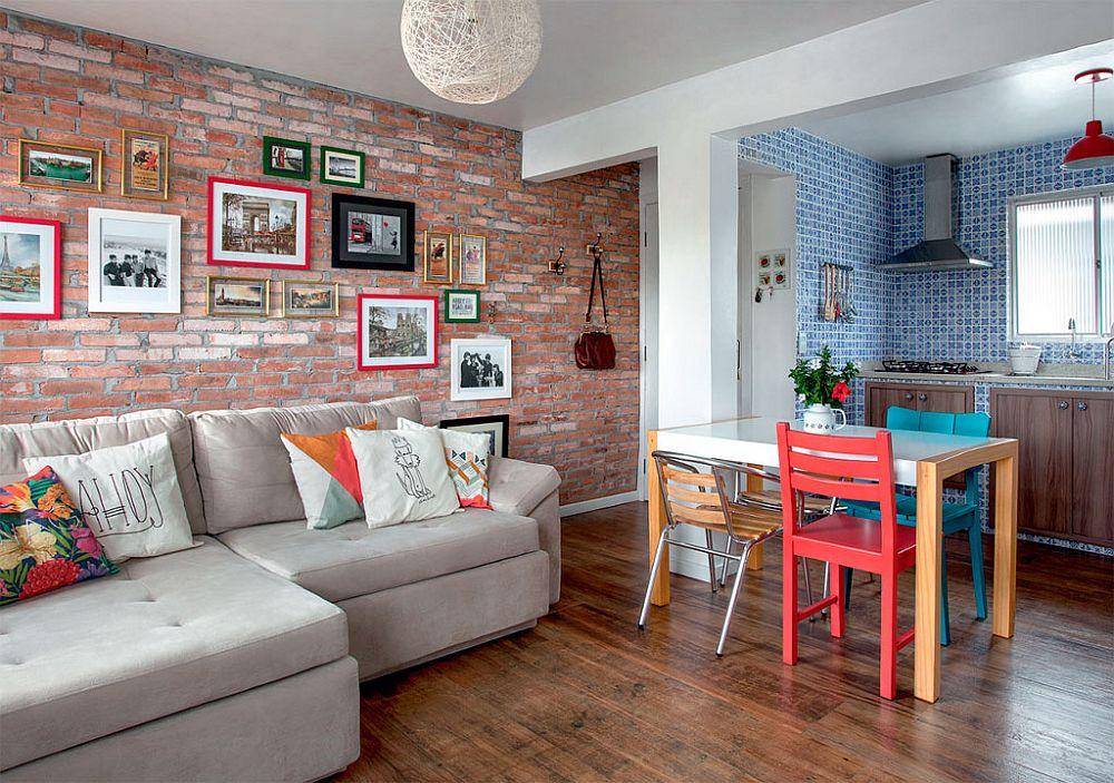 adelaparvu.com despre accente rustice in living deschis catre bucatarie, design blogger Ana Loureiro  (1)