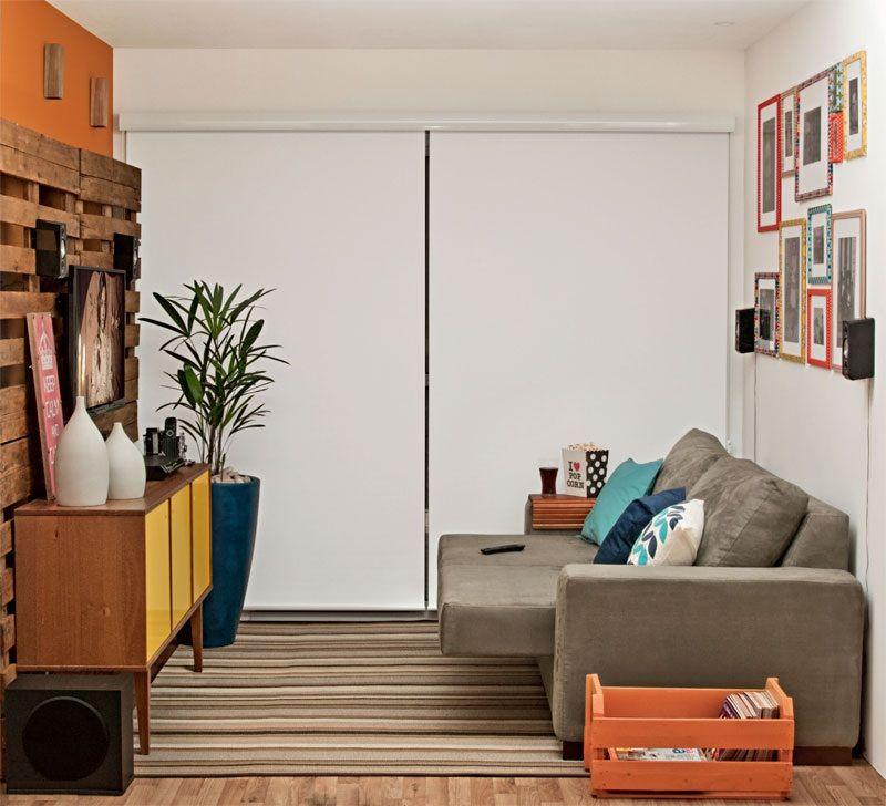 adelaparvu.com despre amenajare living mic cu euro paleti, living 10 mp, design Glaucio Gonçalves, Foto Minha Casa  (3)