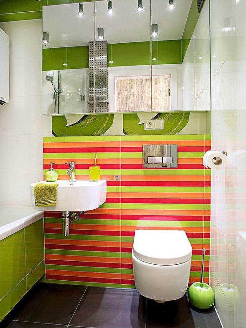 adelaparvu.com despre apartament bloc 50 mp decorat cu fototapet, designer Krystyna Mikolajska  (13)