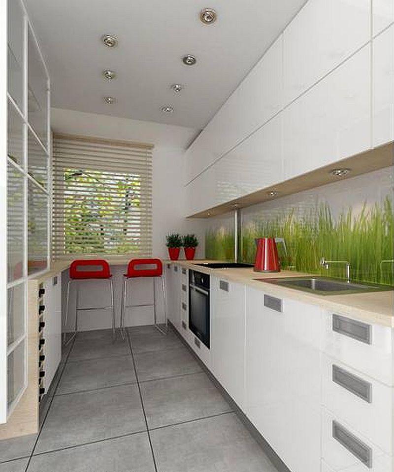 adelaparvu.com despre apartament bloc 50 mp decorat cu fototapet, designer Krystyna Mikolajska  (6)