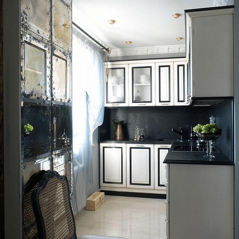 adelaparvu.com despre apartament de bloc 50 mp in stil clasic, designer Anna Putilova (10)