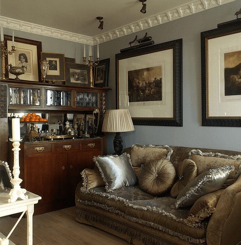 adelaparvu.com despre apartament de bloc 50 mp in stil clasic, designer Anna Putilova (13)