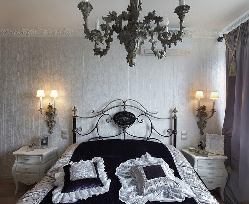 adelaparvu.com despre apartament de bloc 50 mp in stil clasic, designer Anna Putilova (14)