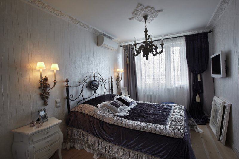 adelaparvu.com despre apartament de bloc 50 mp in stil clasic, designer Anna Putilova (15)