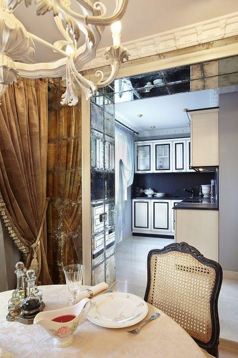 adelaparvu.com despre apartament de bloc 50 mp in stil clasic, designer Anna Putilova (16)