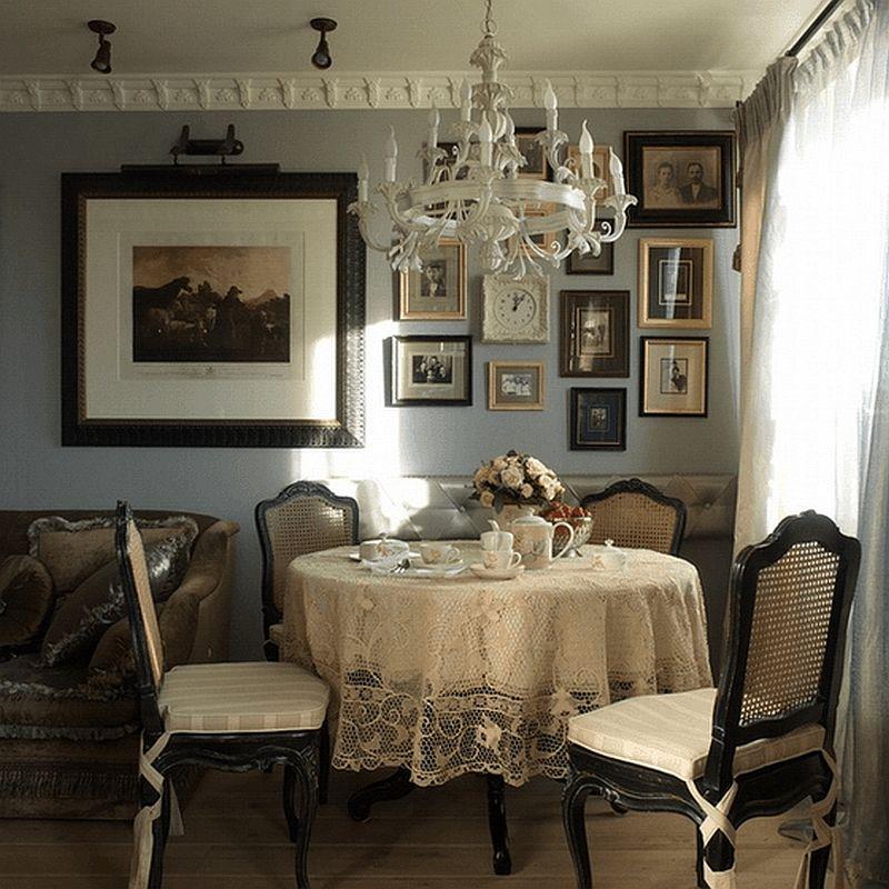 adelaparvu.com despre apartament de bloc 50 mp in stil clasic, designer Anna Putilova (5)