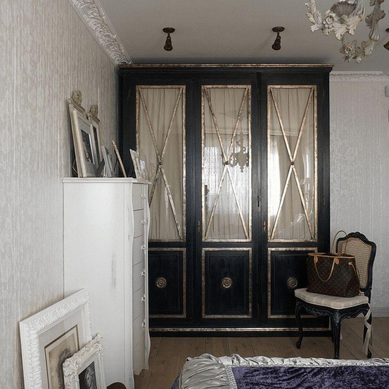adelaparvu.com despre apartament de bloc 50 mp in stil clasic, designer Anna Putilova (8)