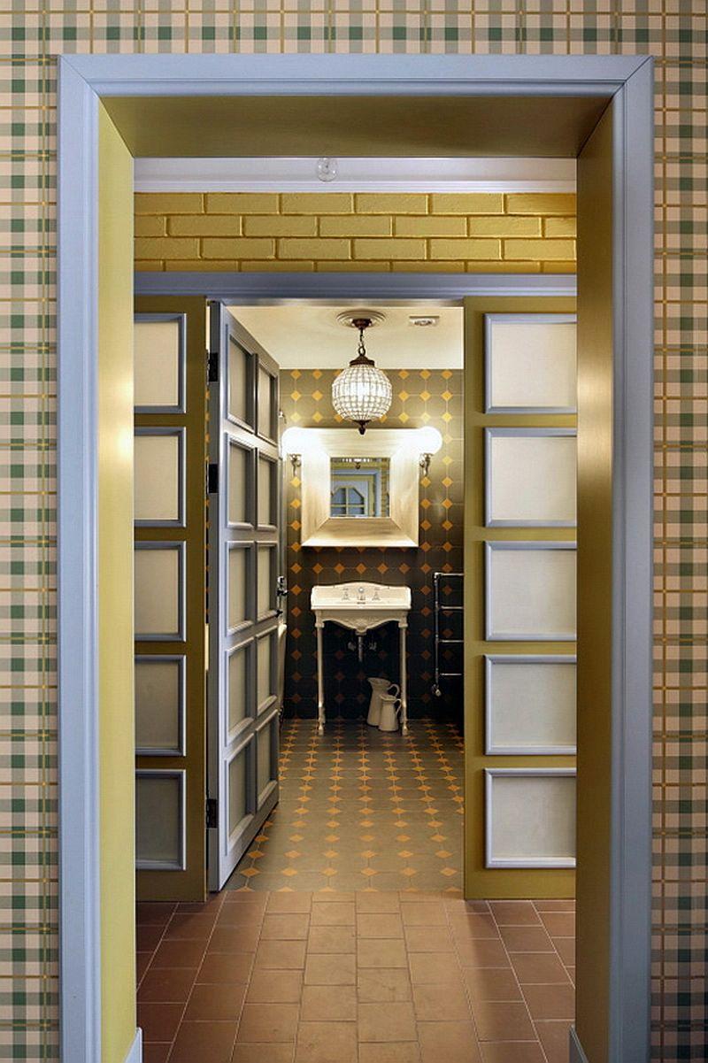 adelaparvu.com despre apartament de bloc 55 mp cu multe draperii, locuinta Moscova, Foto AD (10)